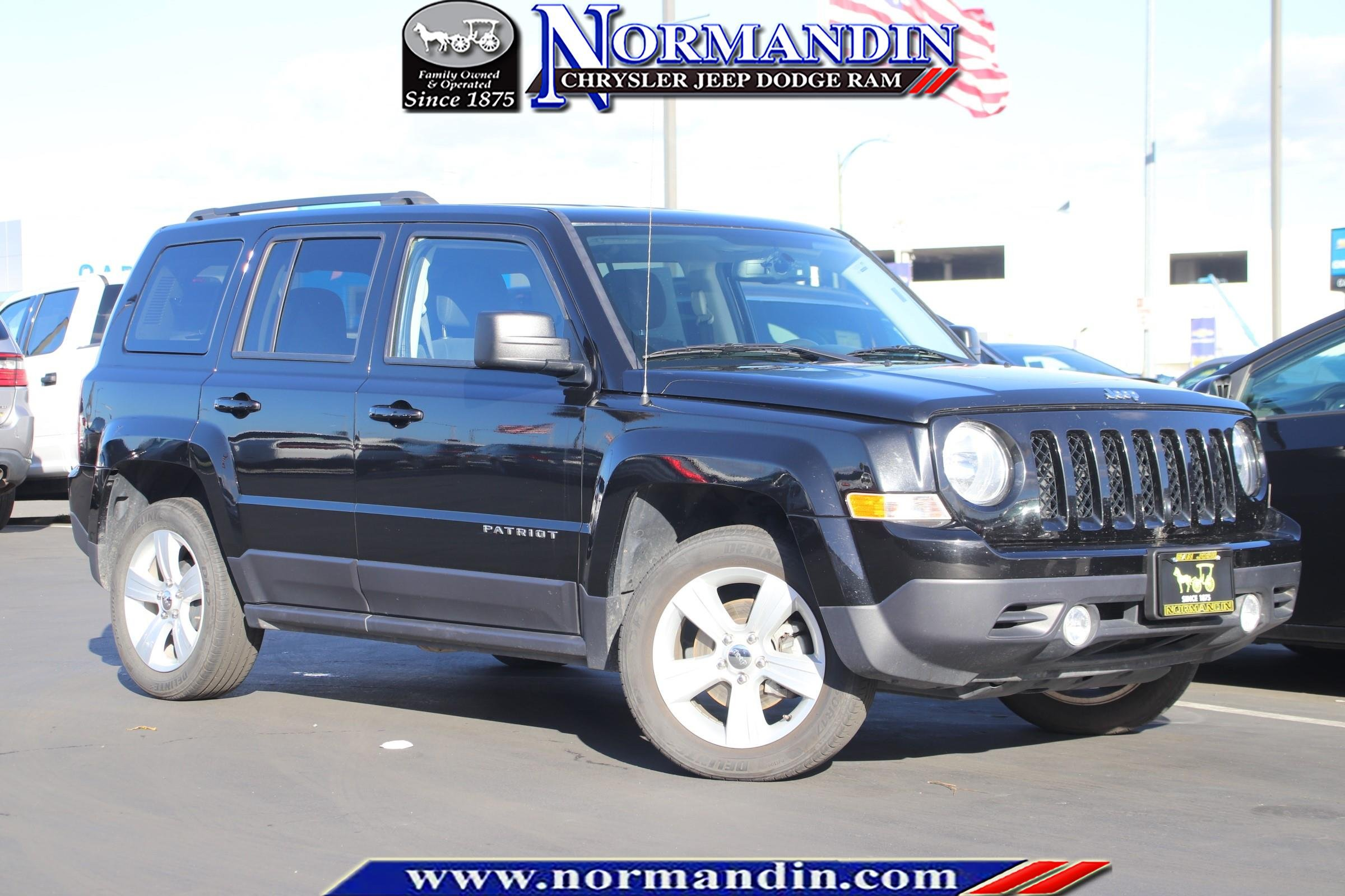 Certified Pre-Owned 2017 Jeep Patriot Latitude