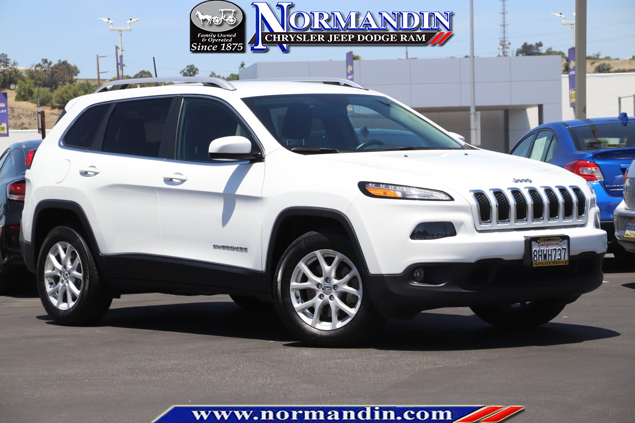 Jeep Certified Pre-Owned >> Certified Pre Owned 2016 Jeep Cherokee 4d Sport Utility In San Jose