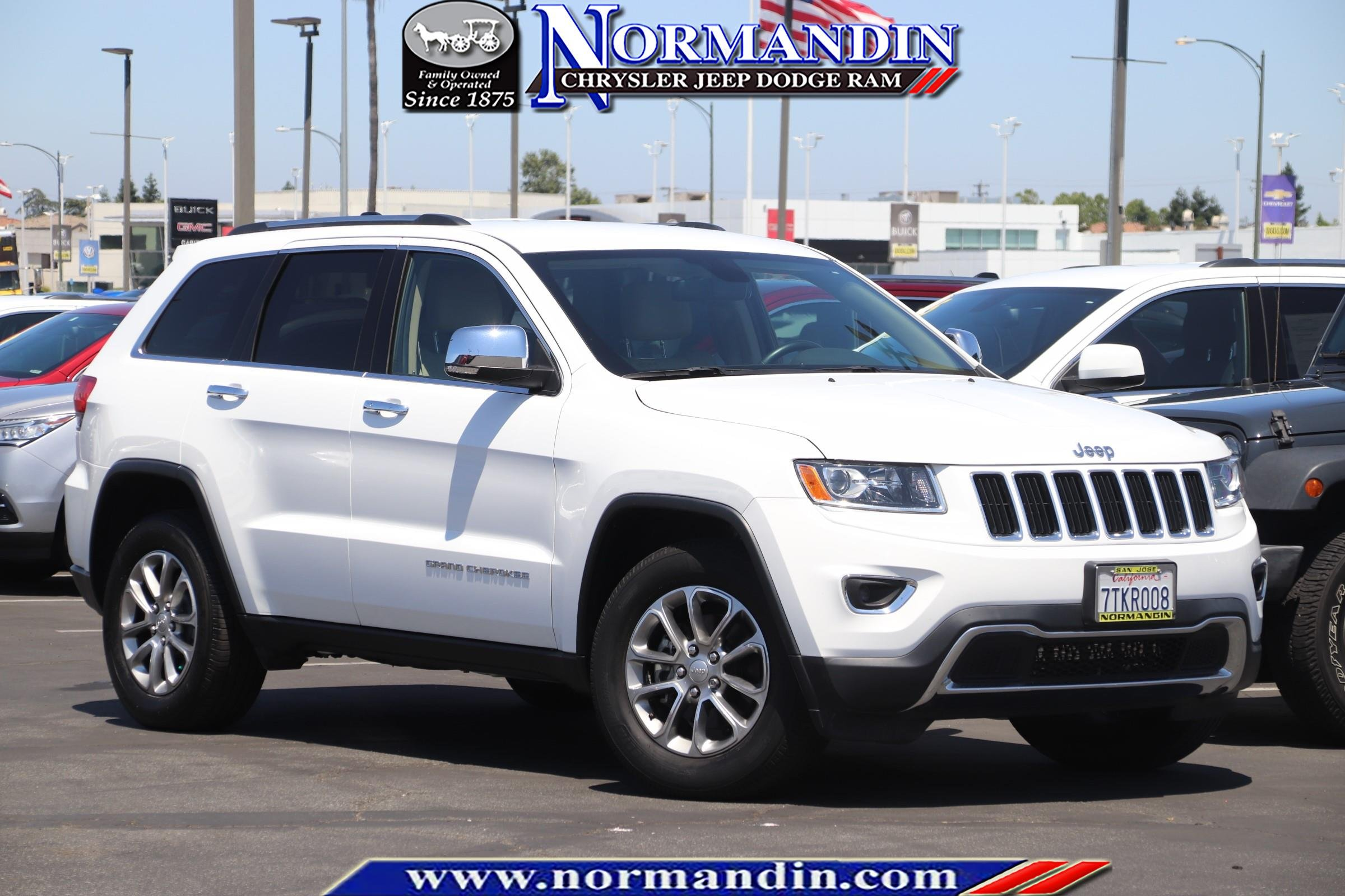 Certified Pre Owned Jeep >> Certified Pre Owned 2016 Jeep Grand Cherokee Limited Rwd 4d Sport Utility