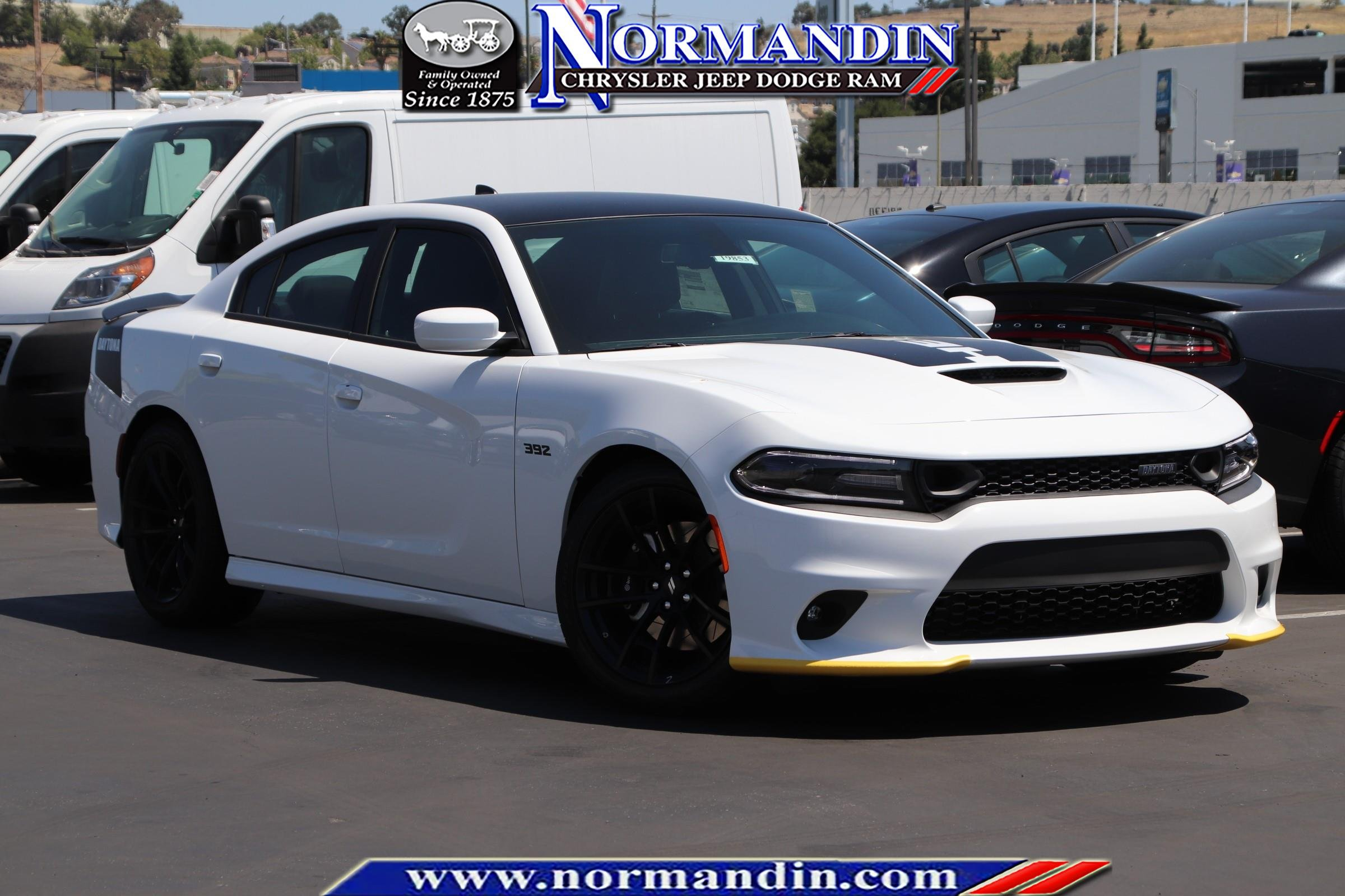 New 2019 DODGE Charger R/T Scat Pack Daytona Edition