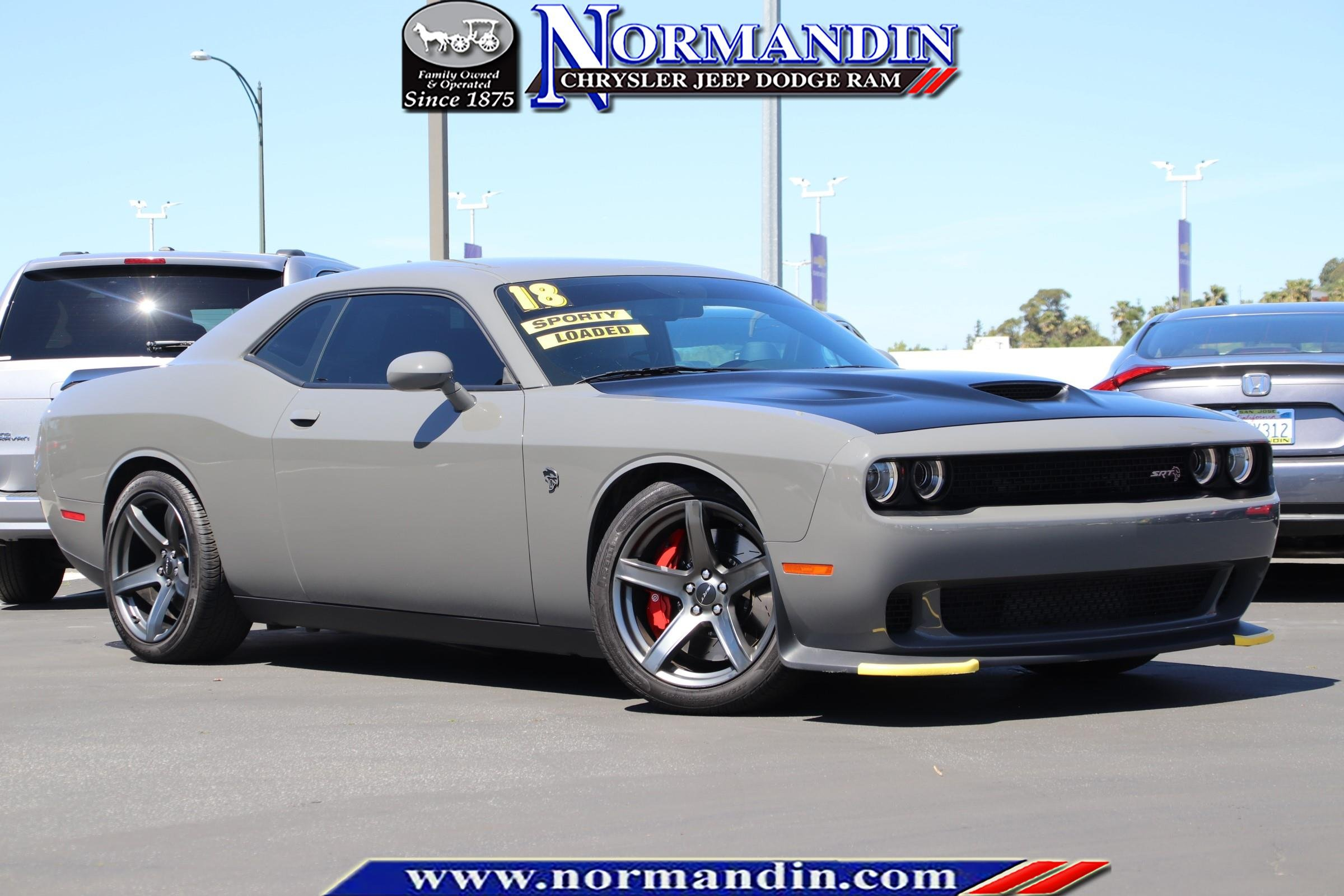 Pre-Owned 2018 Dodge Challenger SRT Hellcat