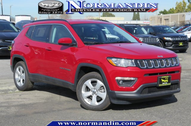 New 2018 Jeep Compass Latitude Sport Utility In San Jose