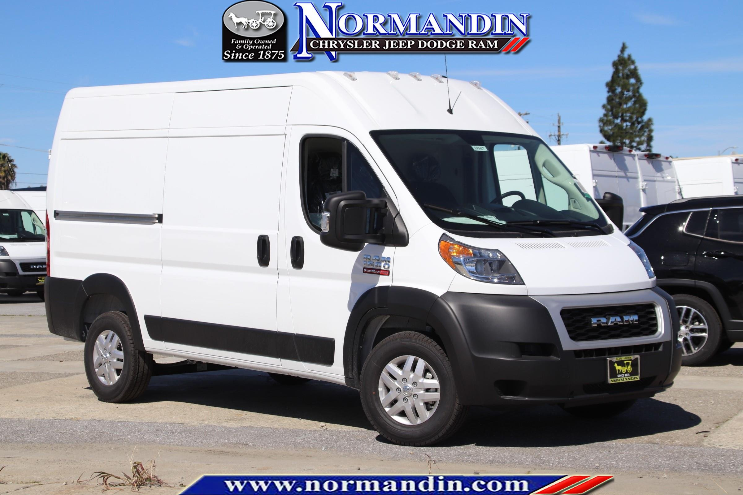 NEW 2019 RAM PROMASTER 1500 CARGO VAN HIGH ROOF 136