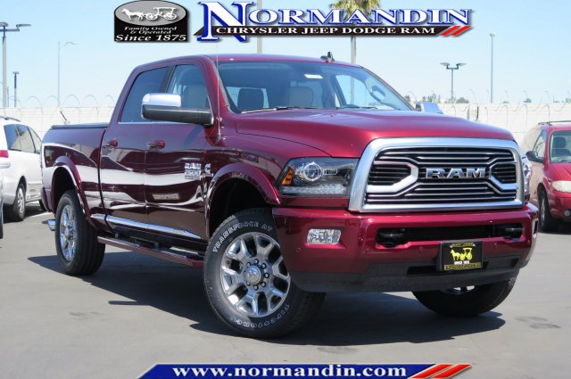 New 2018 RAM 2500 Limited Tungsten 4x4 Crew Cab 6'4