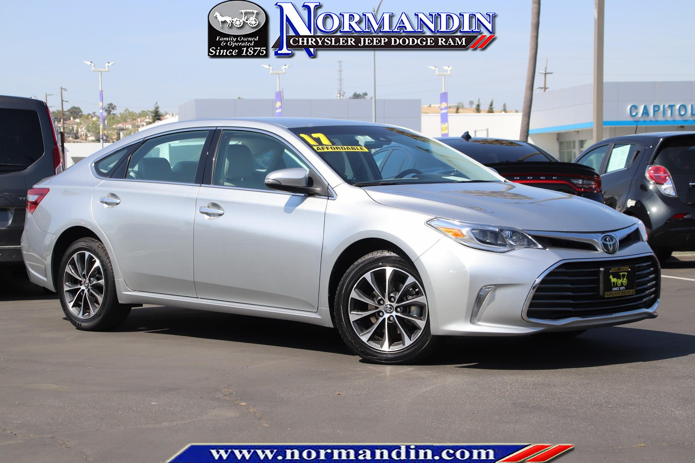 San Jose Toyota >> Pre Owned 2017 Toyota Avalon Xle 4d Sedan In San Jose 176816r