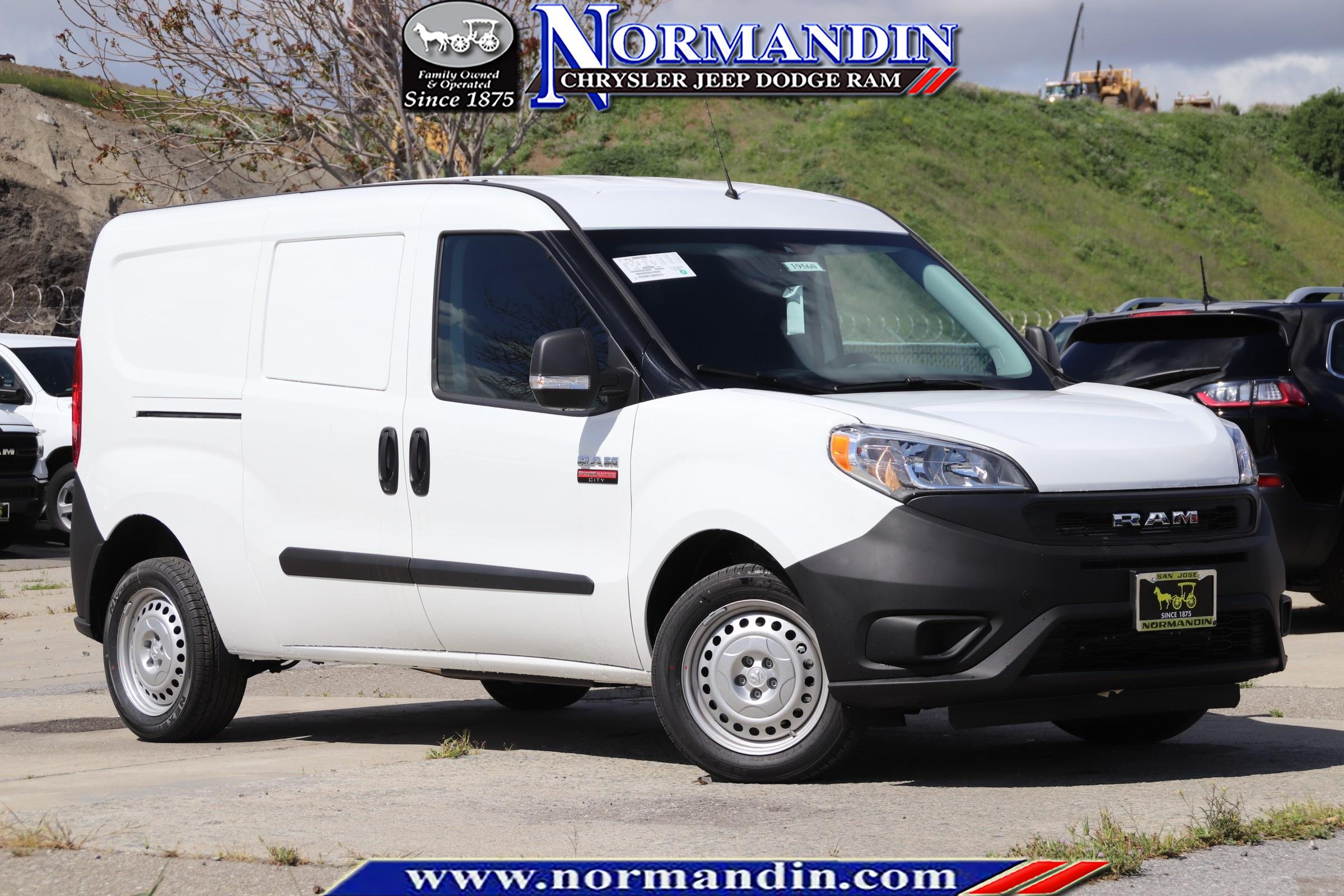 NEW 2019 RAM PROMASTER CITY TRADESMAN CARGO VAN
