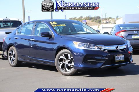 Pre-Owned 2016 Honda Accord LX